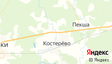 Отели города Липна на карте