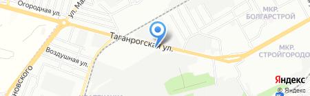 Леон на карте Ростова-на-Дону