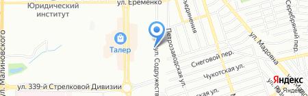 РПЦ на карте Ростова-на-Дону