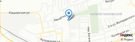 Ника на карте Ростова-на-Дону