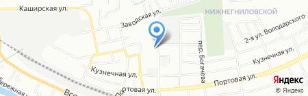 Закрома на карте Ростова-на-Дону
