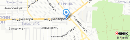 Световые технологии на карте Ростова-на-Дону