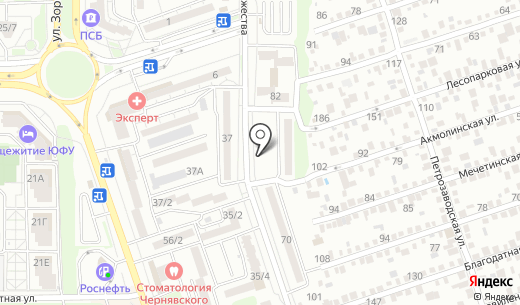 Миклуха. Схема проезда в Ростове-на-Дону