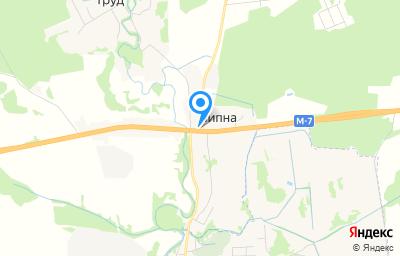 Местоположение на карте пункта техосмотра по адресу Владимирская обл, Петушинский р-н, д Липна, д 131А