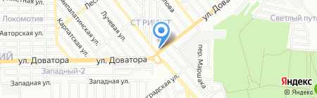 Фобос на карте Ростова-на-Дону