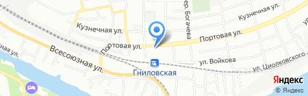 Пикарус на карте Ростова-на-Дону