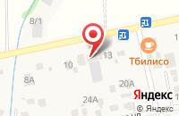 Схема проезда до компании Шиномонтажная мастерская в Ленинаване