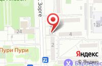 Схема проезда до компании Техинком- Аэро в Ростове-На-Дону