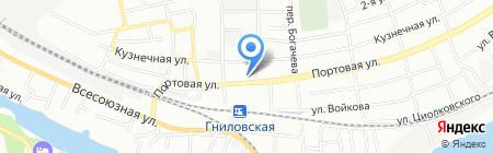 Спецсервис на карте Ростова-на-Дону