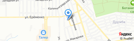 Детский сад №249 на карте Ростова-на-Дону