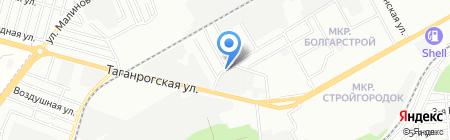 АЗК Строй-Сервис на карте Ростова-на-Дону