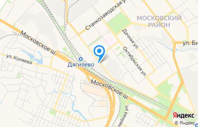 Местоположение на карте пункта техосмотра по адресу г Рязань, ул Магистральная, д 10А