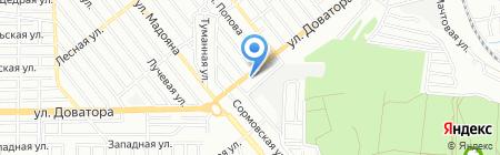 ПластЕвро на карте Ростова-на-Дону