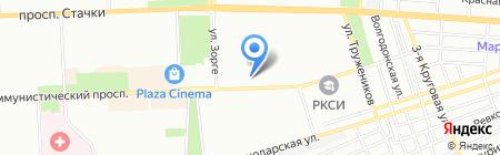 Альянс на карте Ростова-на-Дону