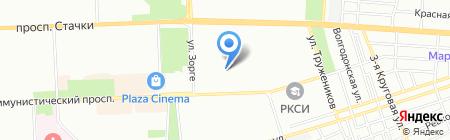 Детский сад №223 на карте Ростова-на-Дону