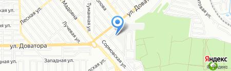 Южный Дом на карте Ростова-на-Дону