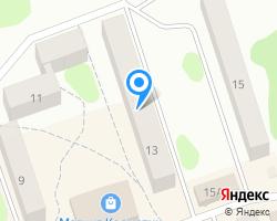 Схема местоположения почтового отделения 601110