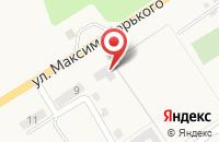 Схема проезда до компании Солпром в Овощном