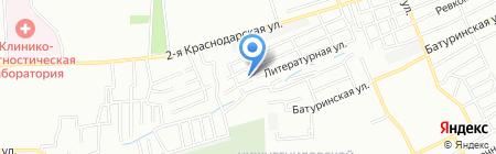 Дриада Плюс на карте Ростова-на-Дону