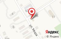 Схема проезда до компании Отделение почтовой связи в Овощном