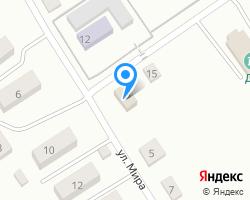 Схема местоположения почтового отделения 346750