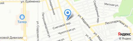 Атриум Юг на карте Ростова-на-Дону