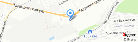 АлексСтрой на карте Ростова-на-Дону
