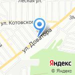 Автомойка на карте Ростова-на-Дону