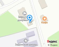 Схема местоположения почтового отделения 346753