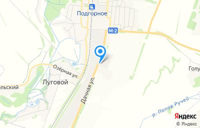 Местоположение на карте пункта техосмотра по адресу Воронежская обл, пгт Подгоренский, ул Дачная, д 4