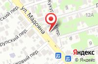 Схема проезда до компании Реквием в Ростове-на-Дону
