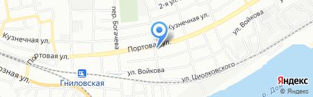 Везунчик на карте Ростова-на-Дону