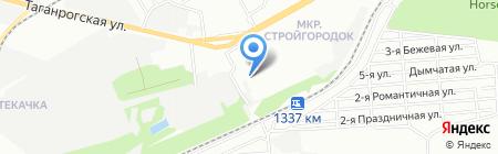 Технотекстиль на карте Ростова-на-Дону