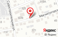 Схема проезда до компании Огонек в Ростове-На-Дону