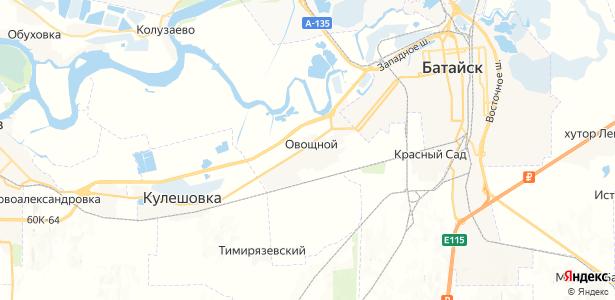 Овощной на карте