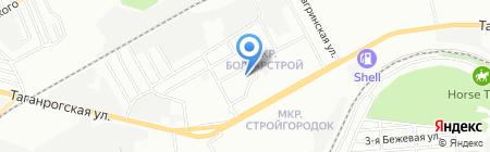 Детский сад №19 на карте Ростова-на-Дону