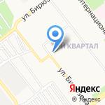 Участковый пункт полиции Московского района на карте Рязани