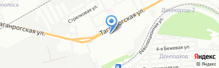 Мёд на карте Ростова-на-Дону