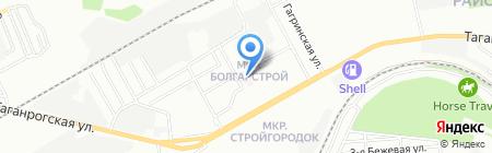 Консультативно-диагностическая поликлиника на карте Ростова-на-Дону