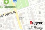 Схема проезда до компании ВИКТОР в Ростове-на-Дону