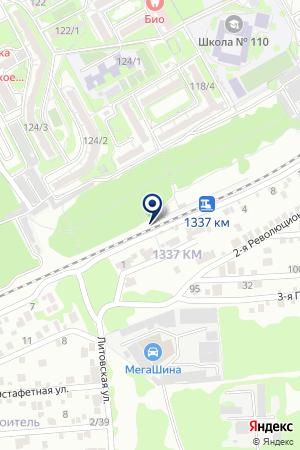 АВТОСЕРВИСНОЕ ПРЕДПРИЯТИЕ ДОНАВТОСЕРВИС на карте Новочеркасска