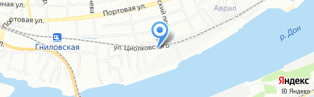 Глонасс Центр на карте Ростова-на-Дону
