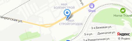 Пчёлка на карте Ростова-на-Дону