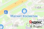 Схема проезда до компании Фреш в Ростове-на-Дону
