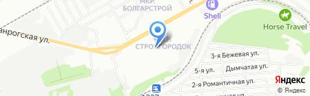 Детский сад №310 на карте Ростова-на-Дону