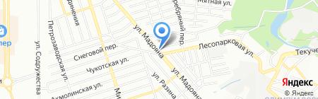 Бильярдная лавка на карте Ростова-на-Дону