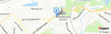 Дон-Шина на карте Ростова-на-Дону
