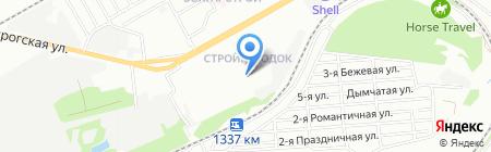 Средняя общеобразовательная школа №110 на карте Ростова-на-Дону