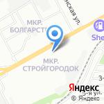 Орто на карте Ростова-на-Дону