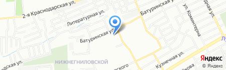 Аптека-Юг на карте Ростова-на-Дону